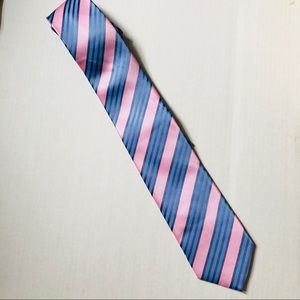 Other - EUC pastels pink & baby blue striped tie